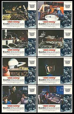 SILENT RUNNING  orig 1972 SCI-FI lobby card set BRUCE DERN 11x14 movie posters