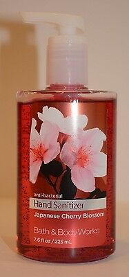 Bath & Body Works Anti-Bacterial Japanese Cherry Blossom Hand Sanitizer 7.6 oz