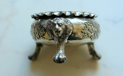 VINTAGE  ART very small silver plated pot ( ID 00D)