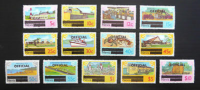 NEVIS 1981 Definitives & Officials 13 Values to $10 As Shown U/M FP7674