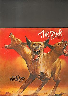 THE RODS - wild dogs LP