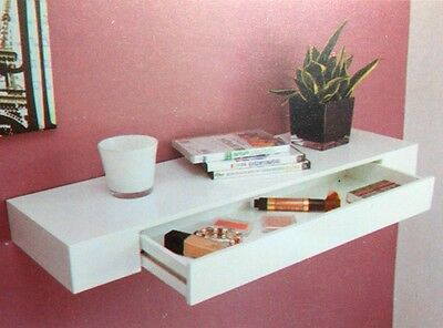 Shelf Living room storage shelf Wandboard Wall shelf Drawer wall Furniture white