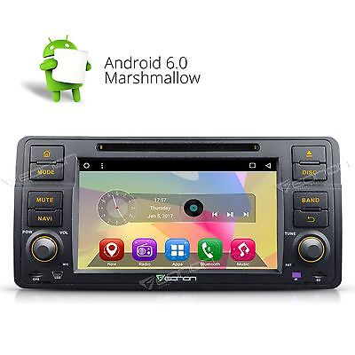 """US 7"""" Android 5.1 Car DVD Player Stereo GPS Radio Bluetooth Touch for BMW E46 A"""