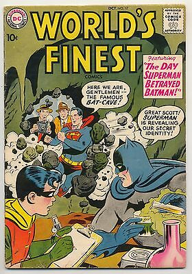 World's Finest #97 (1958) ~ Very Good (4.0) ~ Silver Age ~ DC