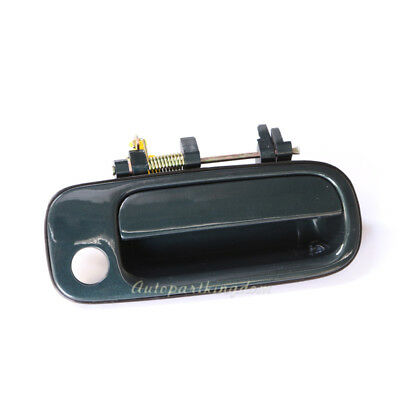 New Outside Door Handle smooth Black Front Right Exterior FR Passenger Side RH
