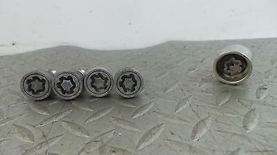 2014 VOLKSWAGEN TOURAN Locking Wheel Nut Set