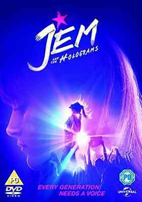 Jem And The Holograms  Dvd New