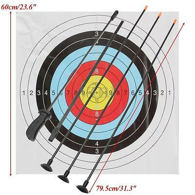 """36"""" Junior Sport Kids Youth Bow And Arrow Set With 3 Arrows And Targets"""