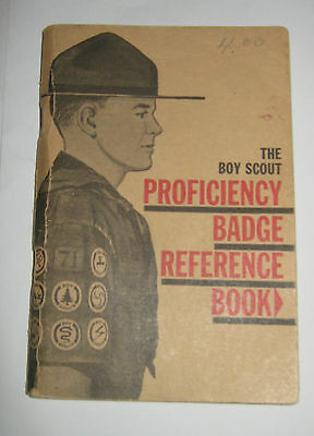 The Boy Scout Proficiency Badge Reference Book - 18th Edition March 1963