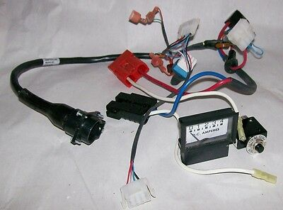Electric Mobility Rascal Scooter 600 SERIES WIRING CONTROL HARNESS W/ VOLT GAUGE