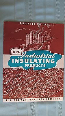 Denver Fire Clay Industrial Insulation Products Catalog-1943 Letterhead-Colorado