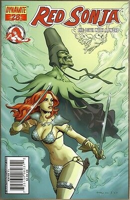 Red Sonja #28 - VF+ - Homs Cover
