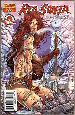 Red Sonja #28 - VF+ - Prado Cover