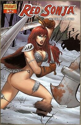 Red Sonja #32 - VF+ - Neves Variant