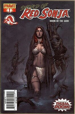 Sword Of Red Sonja: Doom Of The Gods #1 - VF+ - Rubi Variant