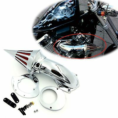 Air Cleaner Kits intake for Yamaha Vstar V-Star 650 all year 1986-2012 CHROME