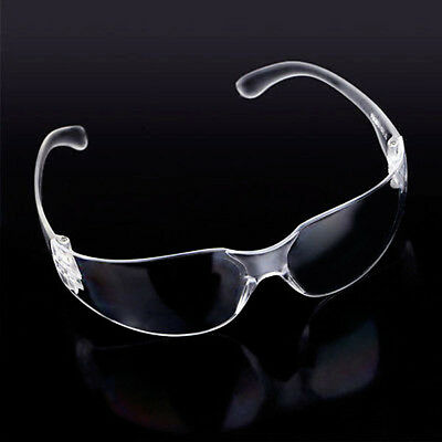 10x Safety Goggles Clear Vented Glasses Eye Protection Protective Lab Anti Fog