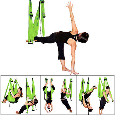 Multifunction Hammock Inversion Swing Adjustable Aerial Pilates Yoga Fitness