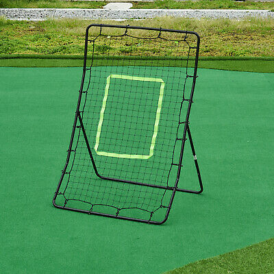 Rebounder Net Football Training Equipment Playback Game Angle Ball Goal Skills