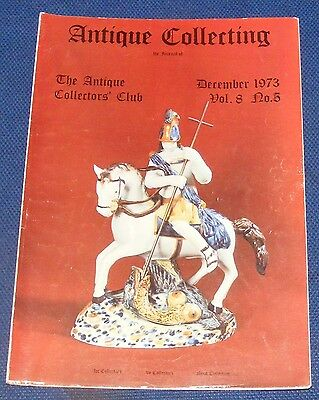 Antique Collecting December 1973 - Black Forest Cuckoo Clocks/early Staffs