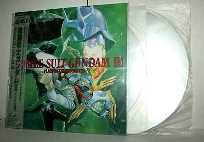 Mobile Suit Gundam III Place in the Encounter Uncut CLV LASER DISC VBC 45678