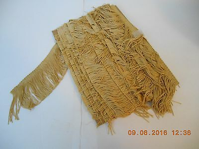 """Reduced Again - Eight (8) Yards 3"""" Gold Fringe For Lampshades, Costumes, Etc"""