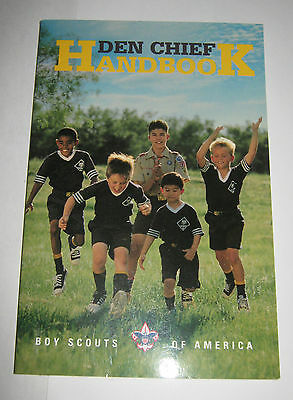 Boy Scouts of America Den Chief Handbook - Wolf Cubs 1998