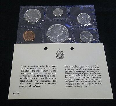 1963 Canada Silver Mint Set With Ogp.  Price Reduced 2/14/17  (1130Jgr)
