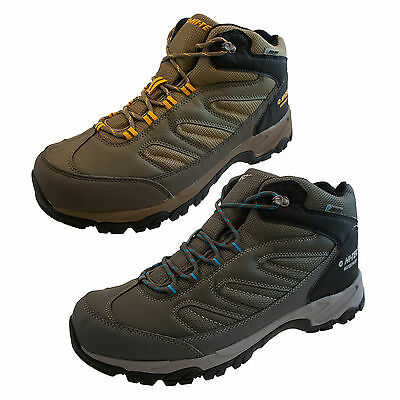 Hi-Tec Moreno Mens  Waterproof Walking Hiking Trail Boots Trainers Size 7 - 13