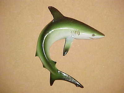 "4"" SHARK Wall Hanging Decor Tropical Fish Spa Bath Beach Aquatic Nautical Ocean"