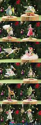 Patience Brewster Krinkles MIni 12 days Ornaments Set of 12