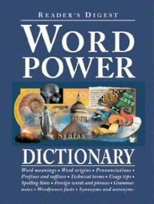 Word Power Dictionary, Reader's Digest 0276424638