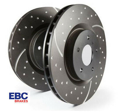 EBC Front Turbo Grooved GD Brake Discs (X2) GD1111