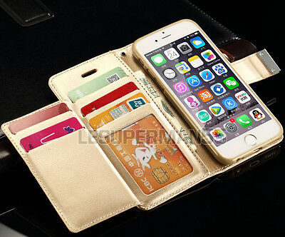 Flip Magnetic Cover Case Stand Wallet Leather For Apple iPhone 6 6S Plus 5S SE