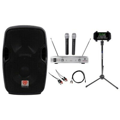 "Rockville 8"" Pro Karaoke Machine/System 4 ipad/iphone/Android/Laptop/TV/Tablet"