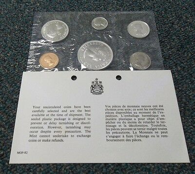 1964 Canada Silver Mint Set With Ogp. Price Reduced 12/29/17    (1131Jgr)