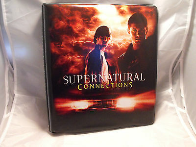Supernatural Connections Collectors Binder