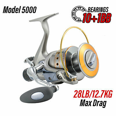 Yoshikawa WORKHORSE Spinning Reel 11BB 5.2:1 1000 Stainless 30% Stronger Body