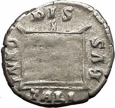 CRISPINA wife of COMMODUS 178AD RARE Altar Ancient Silver Roman Coin i57611