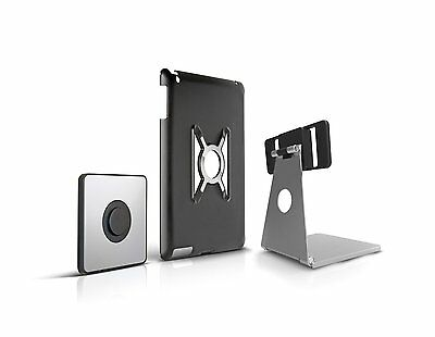 OmniMount Aluminum Desktop Stand w/Magnetic Wall Mount Holder for iPad Air 1 & 2