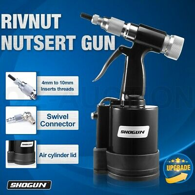 Nutsert / Rivnut Air Hydraulic Tool Rivet Nut Riveter Gun Garage Tools NEW