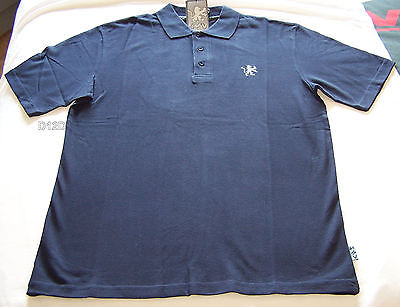 Holden Special Vehicles HSV Mens Navy Embroidered Polo Shirt Size L New