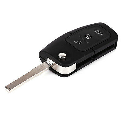For FORD FOCUS MONDEO CMAX FIESTA GALAXY 3 BUTTON REMOTE KEY FOB w/ ELECTRONICS