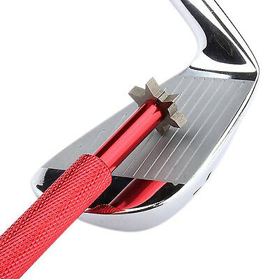 Golf Clubs 6 Cutters Heads For U V Type Grooves Sharpener Leading Irons Utility