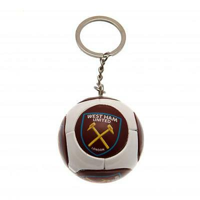 West Ham United Fc Utd Football Keyring Key Chain