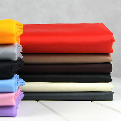 Coat Jacket Lining Fabric Plain Material Dress Suit Making Quilting 150cm*100cm