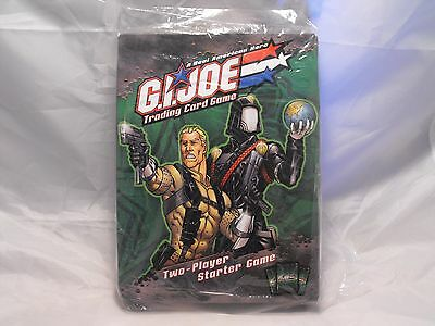 G.i.joe Tcg Two Player Starter Deck.