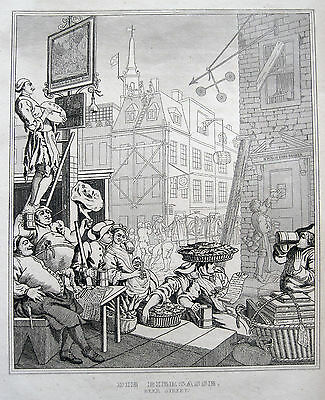 William Hogarth Beer Street Biergasse London St Martin In The Fields