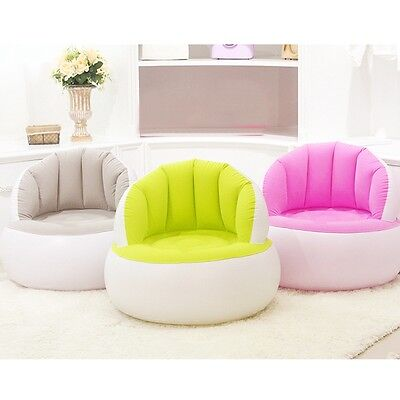 New Inflatable Sofa Adult/Children Air Seat Chair Lazy Reading Relaxing Bean Bag