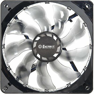 lFor ENERMAX UCMA12 12025 12cm LED Light Ultra-Quiet Batwing Computer Chassis Fan